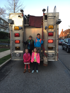 School Fire Truck Ride 1