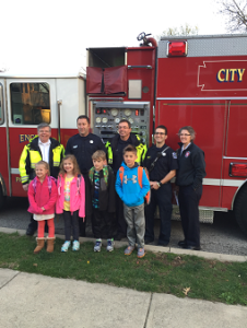 School Fire Truck Ride 2