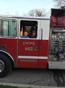 School Fire Truck Ride 3