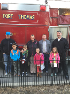 School Fire Truck Ride 4