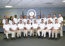 Most recent graduate Sgt. Casey Kilgore's class.